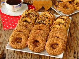 Pastane Usulü Kandil Simidi