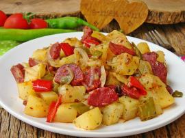 Sucuklu Patates Kavurma
