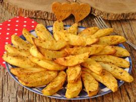 Fırında Hardal Soslu Patates