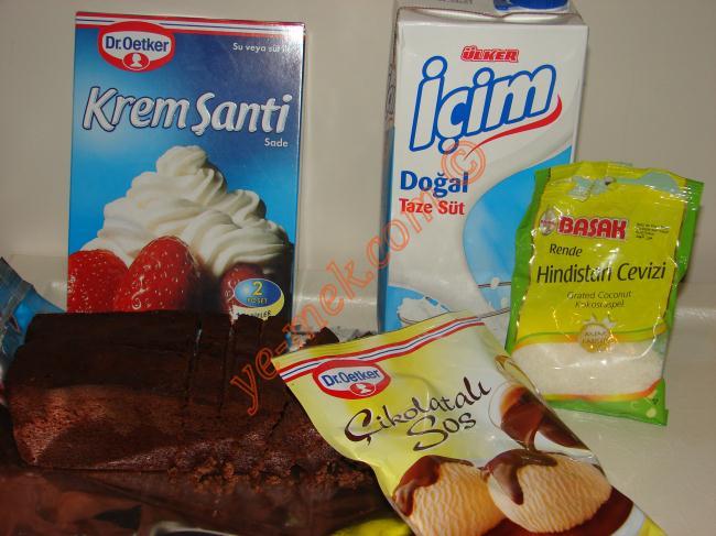 Ağlayan Pasta (Ev Brownisi) Malzemeleri