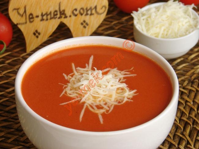 Domates Çorbası Tarifi (Resimli Anlatım) | Yemek Tarifleri