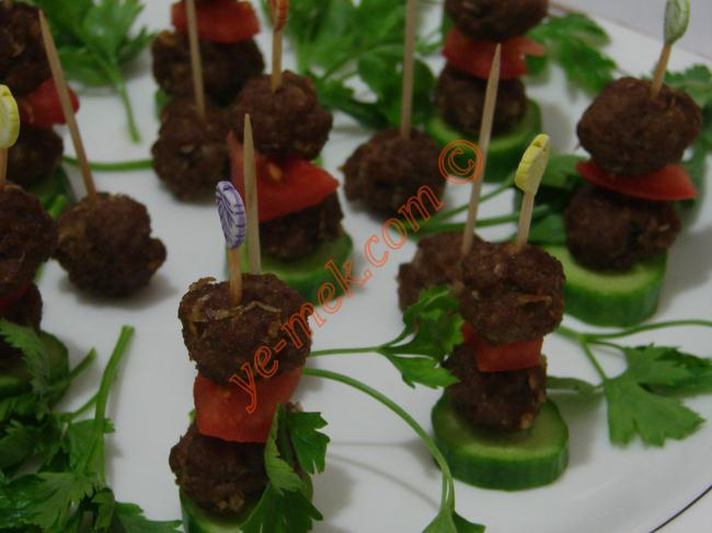 cocktail meatballs canapes recipe recipes from turkish