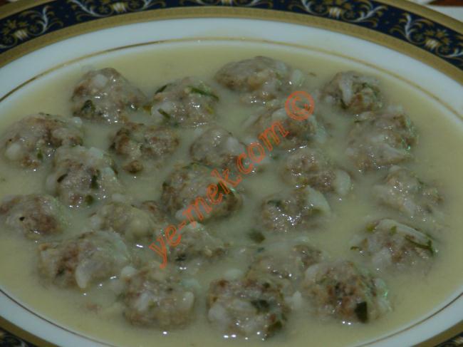 Tanıştıralım, Sulu Yemek Olarak Köfte, Sebzeli Sulu Köfte