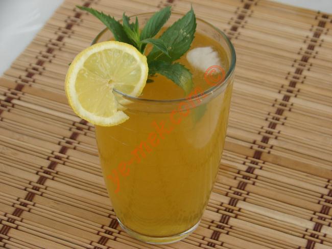 Limonlu Ice Tea Resimli Yemek Tarifi