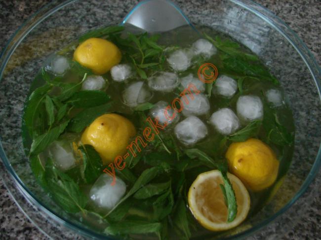 Limonlu Ice Tea (Yeşil Çaylı)