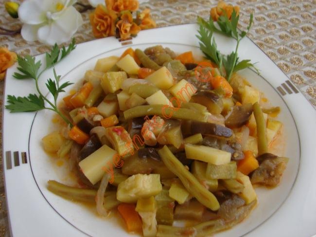 Summer Vegetables (with Olive Oil) Recipe