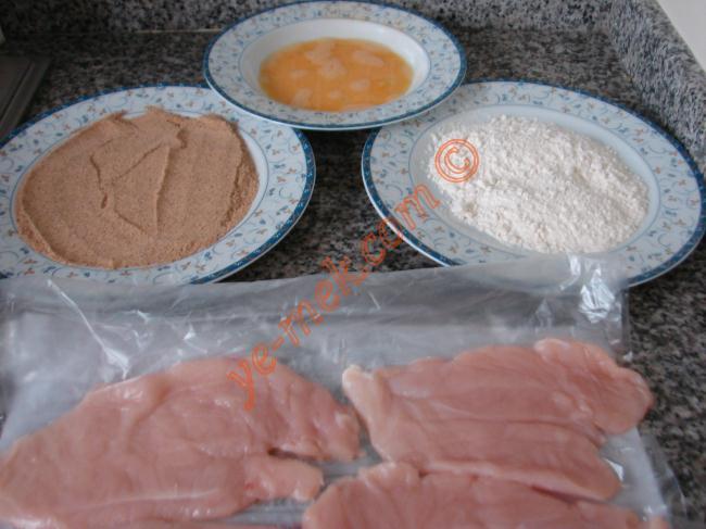 Chicken Schnitzel Recipe Malzemeleri