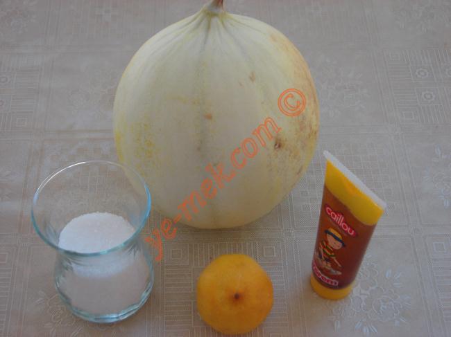 Melon Juice Recipe Malzemeleri