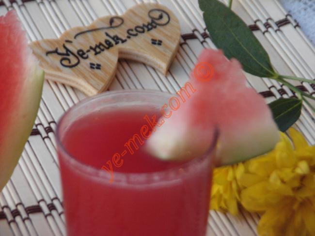 Limonlu Karpuz Suyu