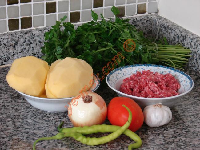 Patates Karnıyarığı Malzemeleri