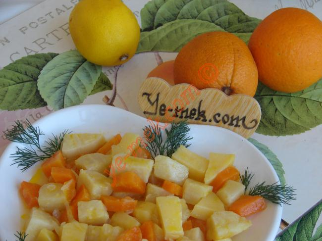 Limonlu Kereviz Nasıl Yapılır