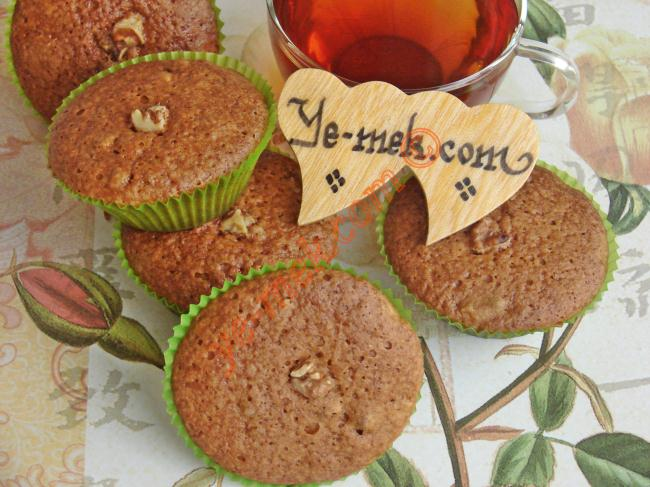 Tarçınlı Cevizli Muffin