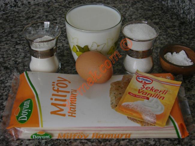 Kalpli Milföy Pasta Malzemeleri