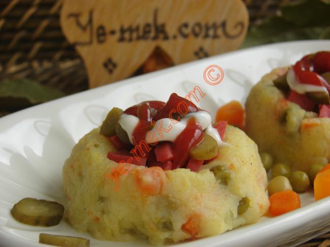 Sekilli Patates Puresi Tarifi