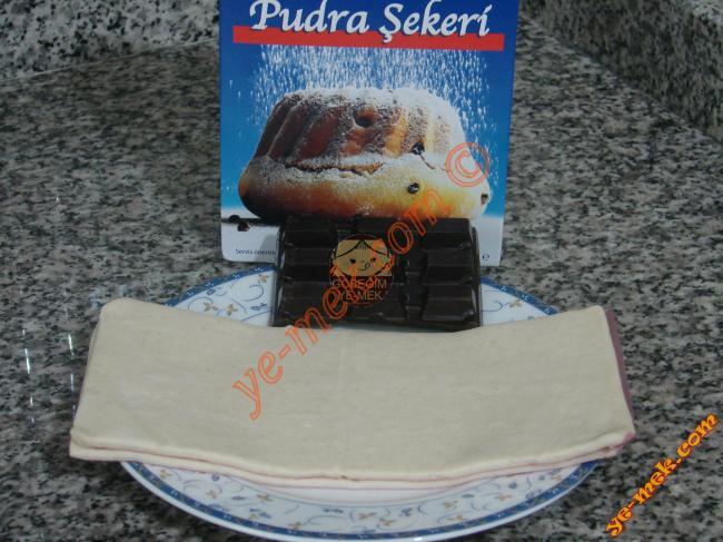 Çikolatalı Milföy Topları Malzemeleri