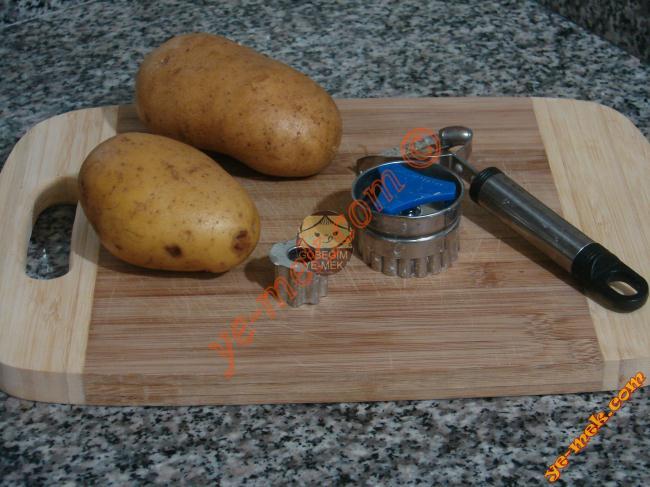 Patates Halkaları Malzemeleri