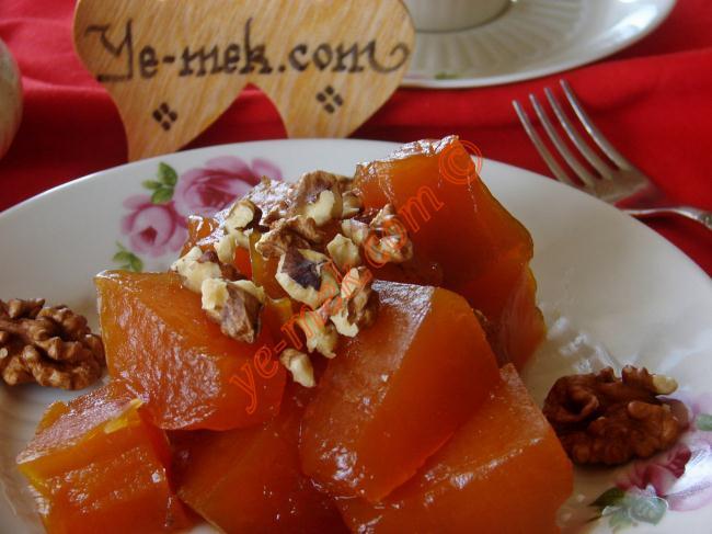 Püf Noktaları İle Tam Kıvamında Lokum Gibi : Kabak Tatlısı