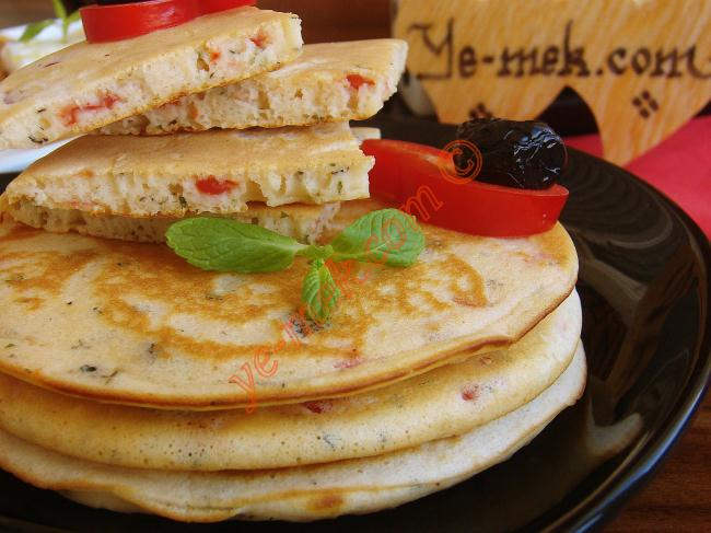 Salty Pancakes Recipe Recipes From Turkish Cuisine In