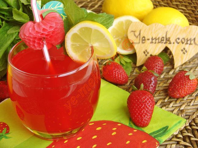 Çilekli Limonata