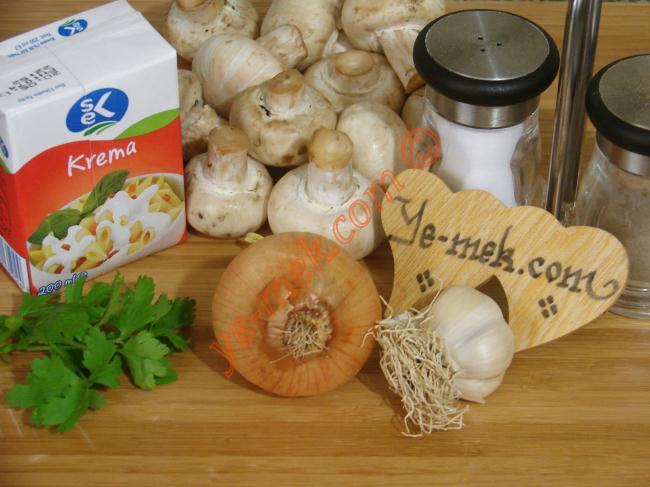 Creamy Sauteed Mushrooms Recipe Malzemeleri