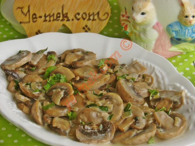 Cream of Mushroom Saute How-To