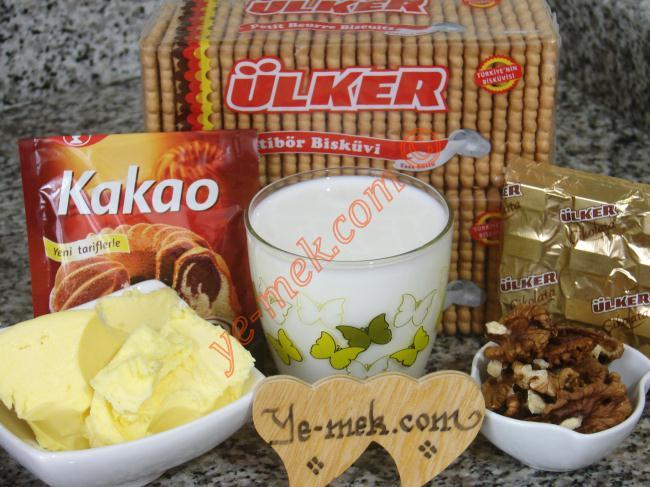 Biscuits Mosaic Cake Recipe Malzemeleri