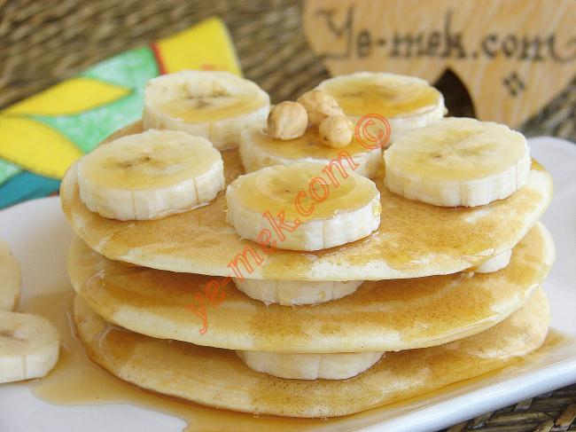 Banana Pancakes with Honey Recipe | Recipes (From Turkish ...