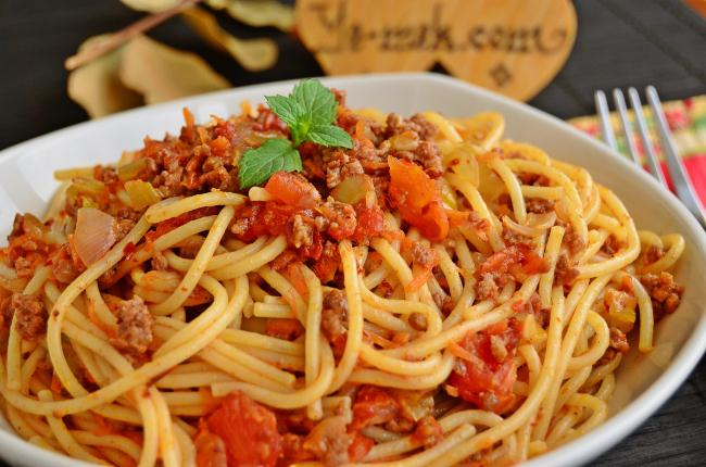 Bolognese Sauce With Pasta