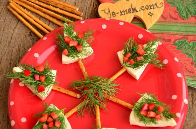 Hazırlaması Kolay, Çok Şok İkramlıklar : Peynirli Kanepeler