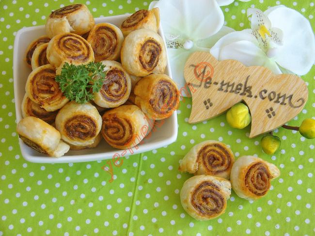 Cumin Puff Pastry Snacks Recipe Recipes From Turkish