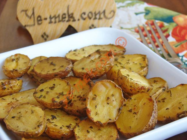 Baked Spicy Fresh Potato Recipe