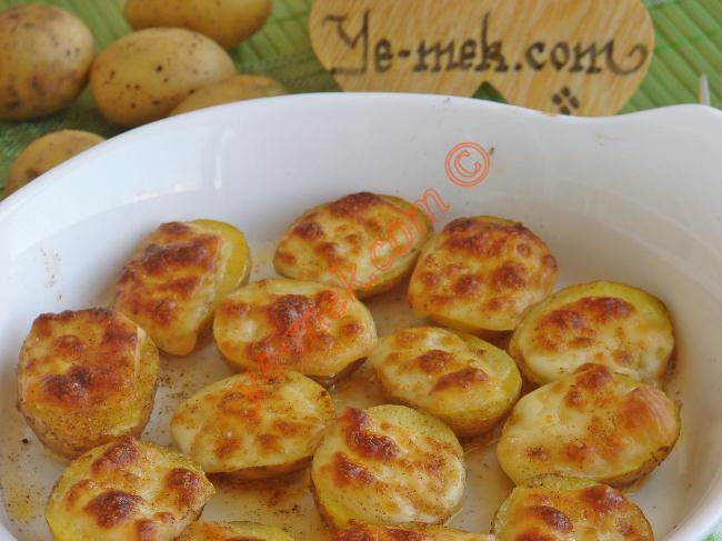 Fırında Kaşarlı Taze Patates