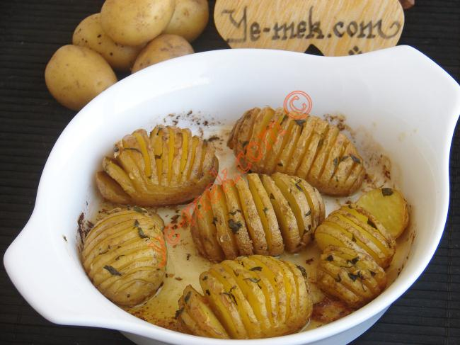 Fresh Baked Potato with Butter Recipe