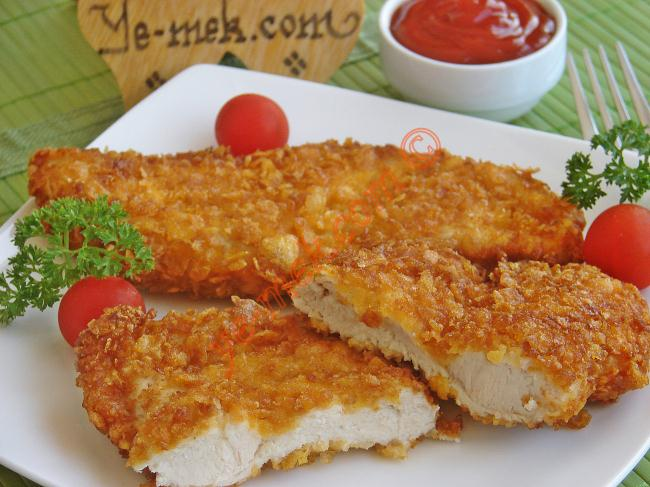 Cornflake-Crumbed Chicken