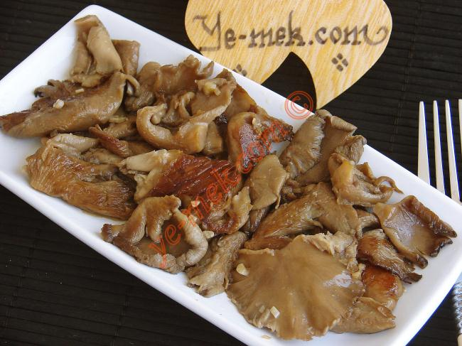 Oyster Mushroom with Soy Sauce Recipe