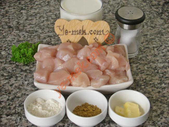 Sauteed Chicken With Curry Sauce Recipe Malzemeleri