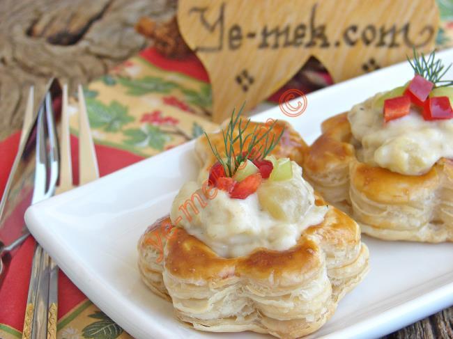 Patlıcan Beğendili Volovan