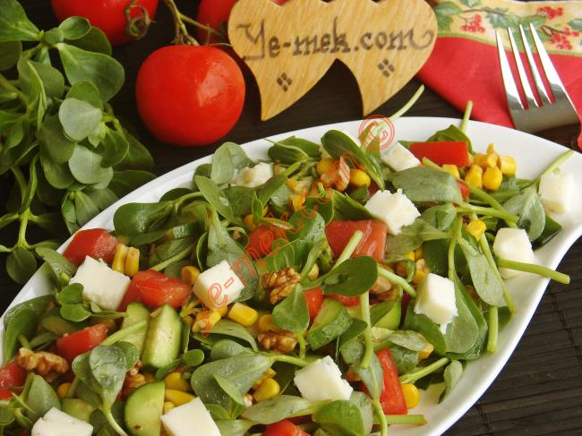 Purslane Salad Recipe