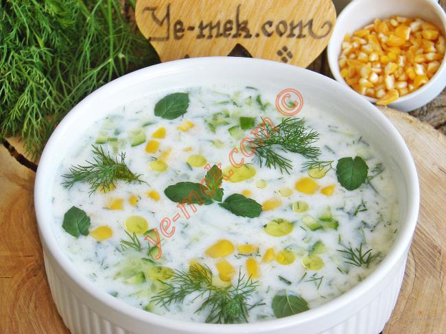 Soğuk Mısır Çorbası