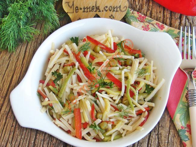 Sebzeli makarna: yemek tarifleri