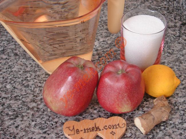 Ginger Apple Juice Recipe Malzemeleri