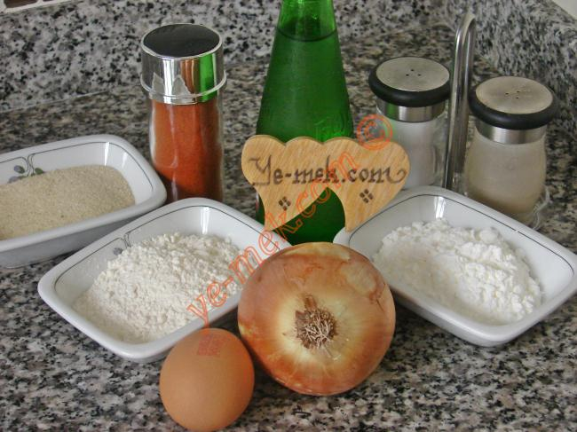 Crispy Onion Rings Recipe Malzemeleri