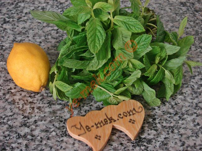 Mint Lemon Tea Recipe Malzemeleri