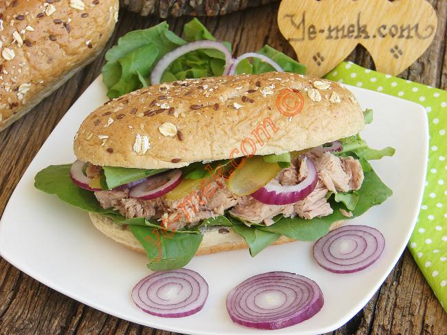 Arugula Tuna Fish Sandwich