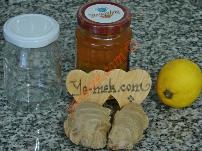 Ginger Lemon Honey Recipe Malzemeleri