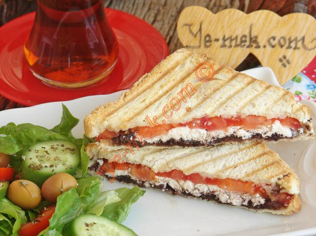 Mediterranean Toast With Olive Paste Recipe