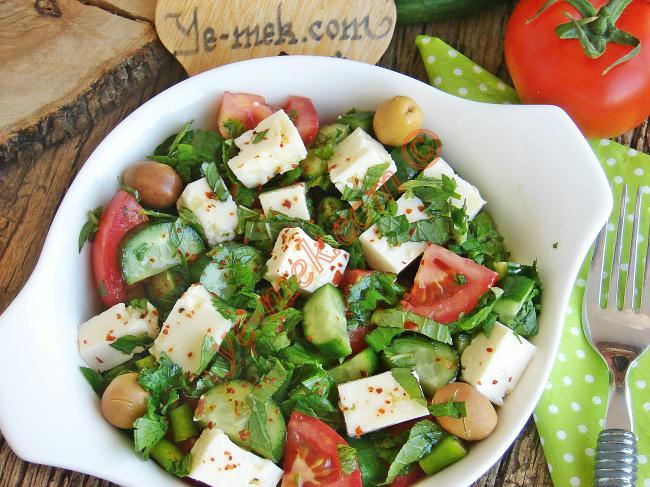 Peynir Salatası