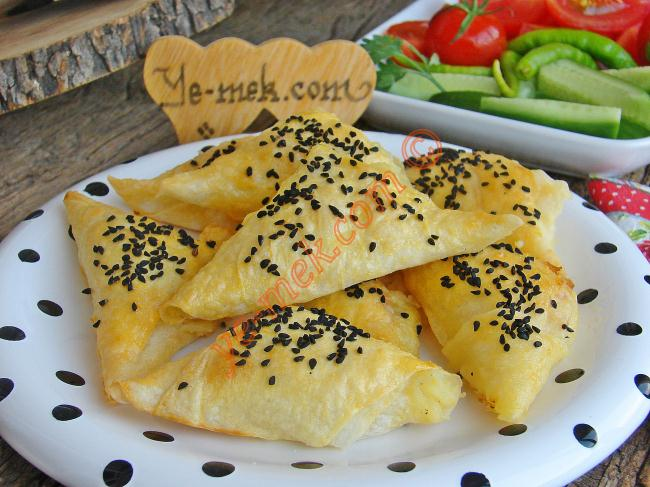 Potato Triangle Shaped Pastry Recipe Recipes From