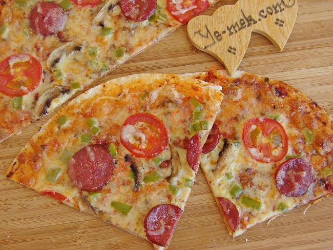 Tortilla (Lavaş) Pizza Tarifleri