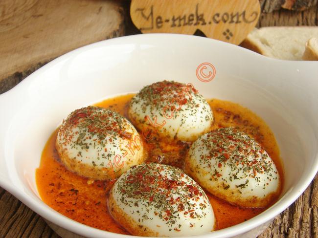 Tereyağlı Yumurta Kapama Tarifi, Nasıl Yapılır? (Resimli)   Yemek Tarifleri